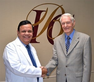 Pastor Lindsey Williams & Rodrigo Rodriguez, MD at IBC Hospital & Health Center, Tijuana, Mexico