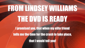From Lindsey Williams - The DVD Is Ready