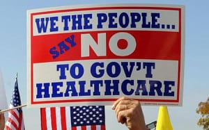Say No To The Healthcare Bill