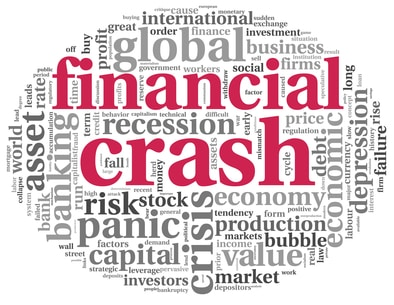 The financial system of the world will crash