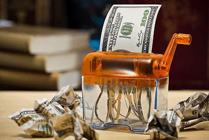 American Dollar Shredded