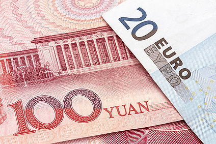 China direct trading between Yuan and the Euro