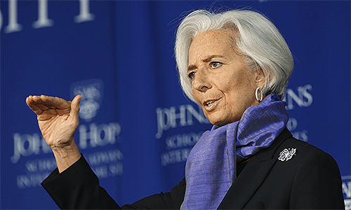 Christine Lagarde - International Monetary Fund IMF