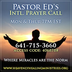 Pastor Ed's Prayer Call