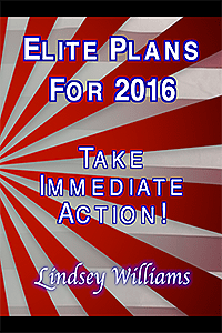 Lindsey Williams - Elite Plans For 2016: Take Immediate Action - DVD Cover