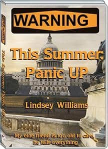 Lindsey Williams - This Summer: Panic UP! New DVD...