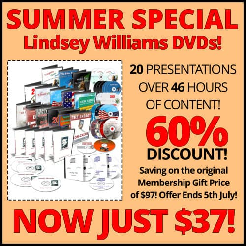 Lindsey Williams Online - SUMMER SPECIAL - Now Just $37! Until July 5, 2017!